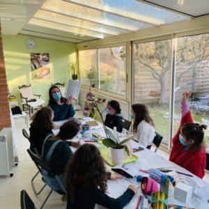 Atelier ecriture enfants espace therapie Zen